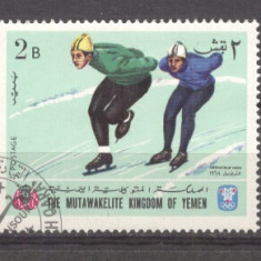 Yemen 1968 Sport, Olympics, used AS.078