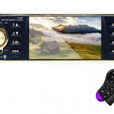 "Radio Auto MP5 Player Auto N2052-S Smart 1DIN cu Display 4"", Bluetooth cu IR si Comenzi pe Volan"