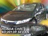 Paravanturi auto Honda Civic, Sedan, an fabr. 2012-2017 (marca HEKO) Set fata si spate - 4 buc.