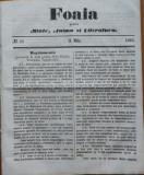 Foaia pentru minte , inima si literatura , nr. 18 , 1863 , Brasov , I. Muresanu