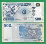 = CONGO - 500 FRANCS - 2002 - UNC   =
