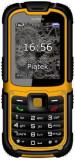 Telefon Mobil myPhone Hammer 2 Plus, Ecran 2.2inch, 2MP, 3G, Single Sim, Rezistent la apa si praf IP67 (Negru/Galben)