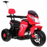 Motocicleta electrica cu pedale si maner parental HL108, rosu
