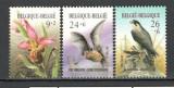 Belgia.1987 Anul protejarii mediului-Flori si pasari  KF.459