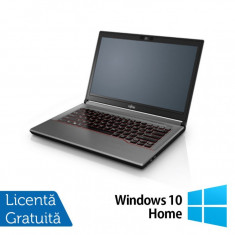 Laptop Refurbished Fujitsu Lifebook E744, Intel Core i7-4702MQ 2.20GHz, 8GB DDR3, 320GB SATA, 14 Inch + Windows 10 Home, 8 Gb, HDD