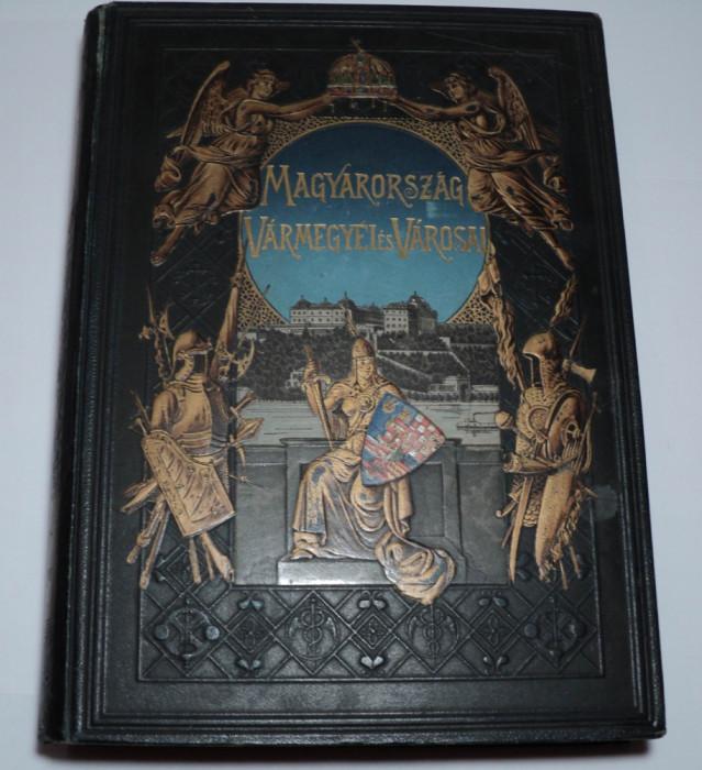 Bratislava, Slovacia, monografie 1898, Pozsony Varmegye, Borovszky Samu, album