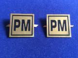 Insigne militare - Insigne România - Semne de armă - Poliție militară