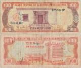 1995, 100 pesos oro (P-150a) - Republica Dominicană!