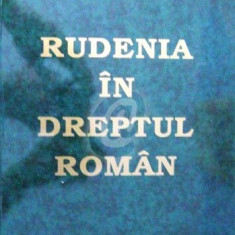 Rudenia in dreptul roman