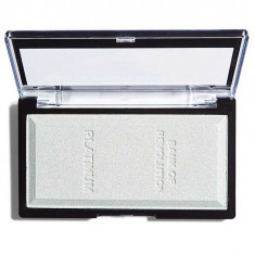 Iluminator compact Makeup Revolution Ingot Highlighter Platinum 12g