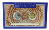 Set 2 Monede Romane - Aureus of Nero și Denarius of Titus, reproduceri