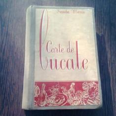 CARTE DE BUCATE - SANDA MARIN,1956