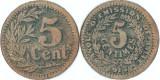 1915 , 5 centimes - Lille ( Franţa )
