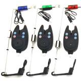 Set 3 Senzori pescuit Avertizori pescuit 3 Swingeri Luminosi