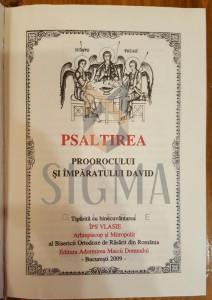I.P. S. VLASIE - MITROPOLIT - PSALTIRE PROROCULUI SI IMPARATULUI DAVID, 2009