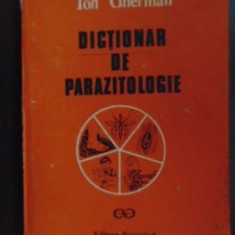 Dictionar de parazitologie-Ion Gherman
