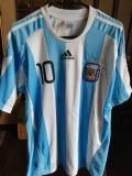 Tricou Argentina Messi Adidas XL, Albastru, Nationala
