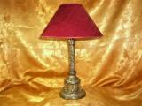 Veioza stil Baroc, laminaj argint, colectie, cadou, vintage