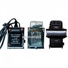 Transformator 220V 110V Convertor Tensiune cu Buton si Cablu 220V 300W