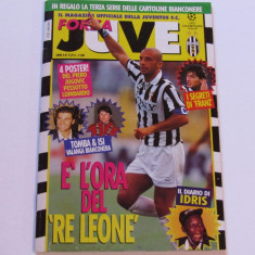 Revista-magazin oficial fotbal-JUVENTUS TORINO (martie 1995)