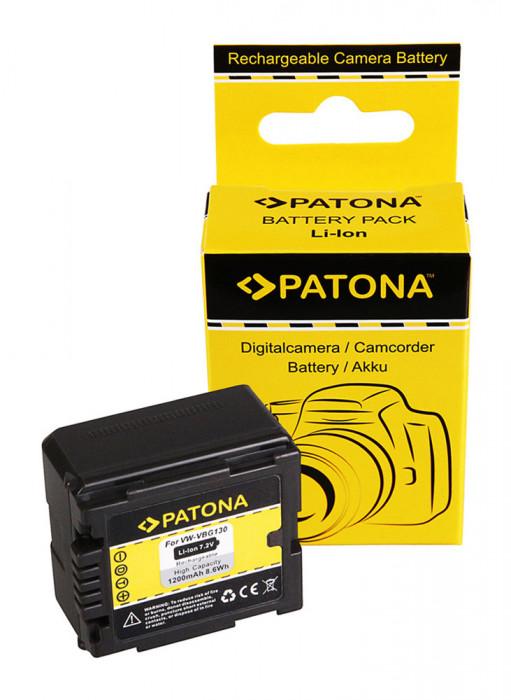 Acumulator Panasonic  pt. VW-VBG130, VW-VBG260, VW-VBG070, compatibil Patona,