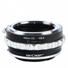 K&F Concept Nikon(G)-NEX II adaptor montura Nikon(G) la Sony E-Mount (NEX) KF06.362