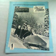 REVISTA SPORT SI TEHNICA NR.1/1968