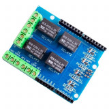 Arduino expansion board  4 relay UNO R3, MEGA 2560 (a.385)