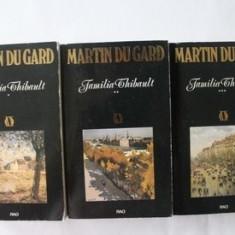 Roger Martin du Gard - Familia Thibault ( 3 vol. )