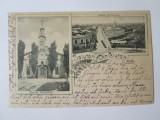 Cumpara ieftin Rară! Salutări din Giurgiu,carte postala circulata 1901, Necirculata, Printata