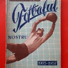 PRONOSPORT PREZINTA FOTBALUL NOSTRU 1905 1957 ×