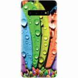 Husa silicon pentru Samsung Galaxy S10 Plus, Colorful Daisy Petals