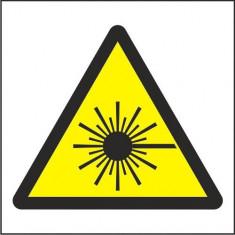 Indicator Radiatie laser(2) - Semn Protectia Muncii