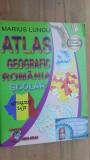 Atlas geografic Romania scolar- Marius Lungu