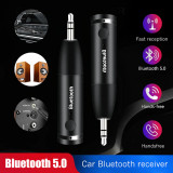 Adaptor Bluetooth 5.0 cu jack 3.5MM Receiver Wireless Aux pentru masina