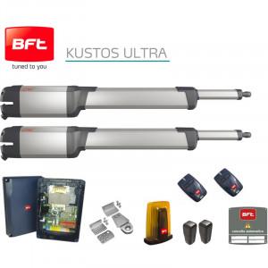 Automatizare porti batante 2 x 2.5m, BFT KUSTOS Ultra KIT A25 FRA