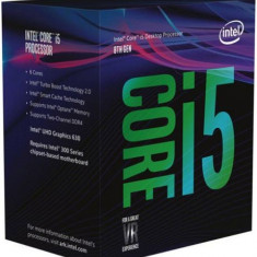Procesor Intel Core i5-8500, 3.0 GHz, LGA 1151, 65 W (BOX)