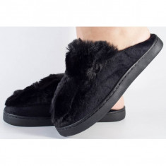 Papuci de casa negri (cod 418003)
