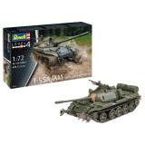 Cumpara ieftin Tanc T-55A/AM with KMT-6/EMT-5, Revell, 139 piese-RV03328