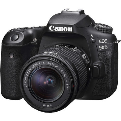 Canon EOS 90D cu Oboectiv 18-55mm IS STM foto
