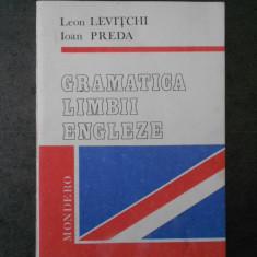LEO LEVITCHI - GRAMATICA LIMBII ENGLEZE