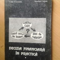 Decizia financiara in practica-Calin Tomosoiu.Marian Crisan