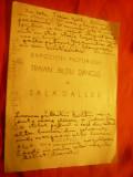 Catalog de Expozitie -Pictor Tr.Biltiu Dancus 1946-1947 cu semnatura T.Soroceanu
