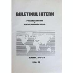 Buletinul intern, nr. 3/2001. Publicatia oficiala a Federatiei Romane de Sah