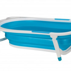 Cadita pliabila silicon albastra 0-5 ani u-grow u8833-bbr /br /&bull m&acircner multifuncţional folosit pentru transport