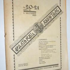 Revista teologica Pastorul sufletesc NR. 20 -21, Lugoj 1929