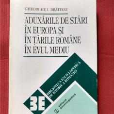 Gh. I. Bratianu - Adunarile de stari in Europa si Tarile Romanei in Evul Mediu