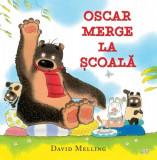 Oscar merge la școală