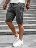 Pantaloni scurți grafit bărbați Bolf JX381