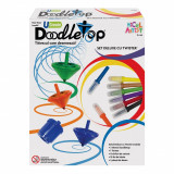 Cumpara ieftin Set titirez Deluxe Doodletop cu Twister, Micul Artist